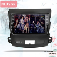 4+64G Octa Core 2 Din Stereo Android 10.0 Car Radio for Mitsubishi Outlander 2008 2014 GPS Navigation CD DVD Player BT head unit