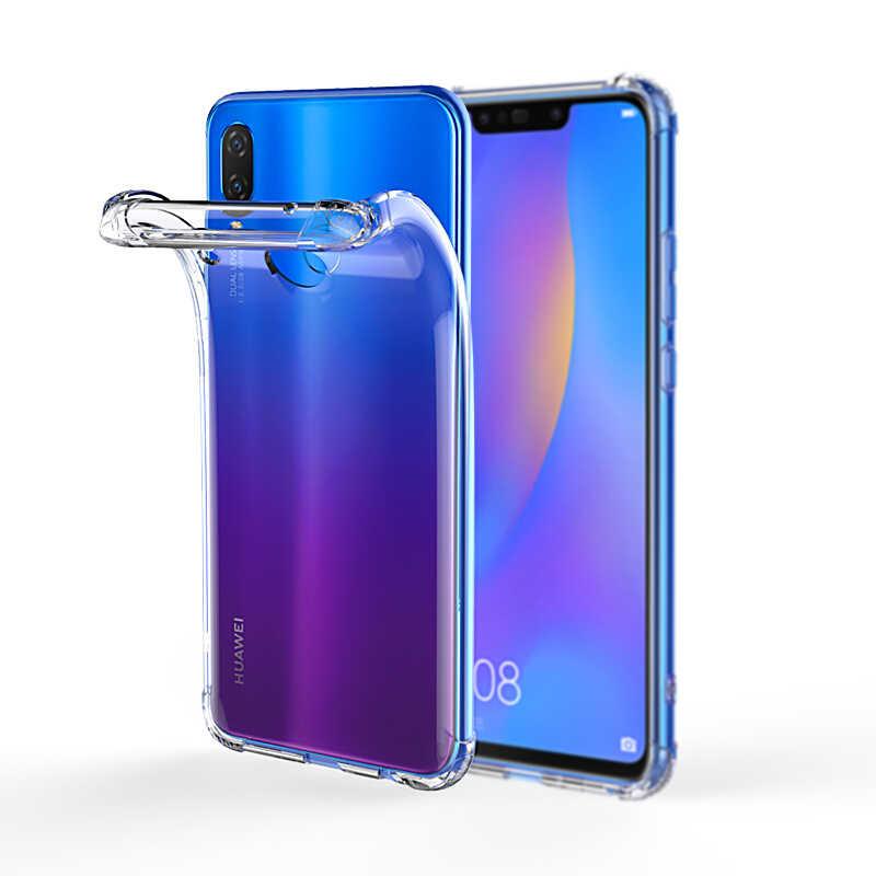 Funda de silicona TPU suave transparente para Huawei Nova 3 3i 4 P Smart 2019 P20 P30 Pro P10 P9 P8 lite Honor V20 8X 8C 9 10 lite 7X 6X caso