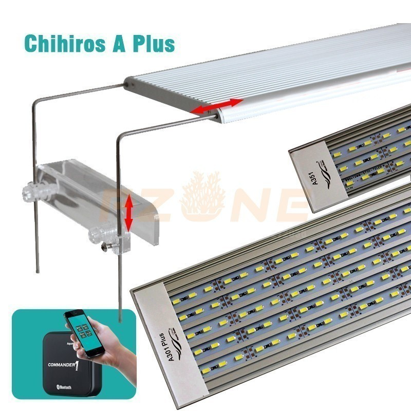 Free Shiping Chihiros A PLUS Series Aquarum Led Lighting Plant Grow Light Lid Or Hang Fix With Brightness Remote