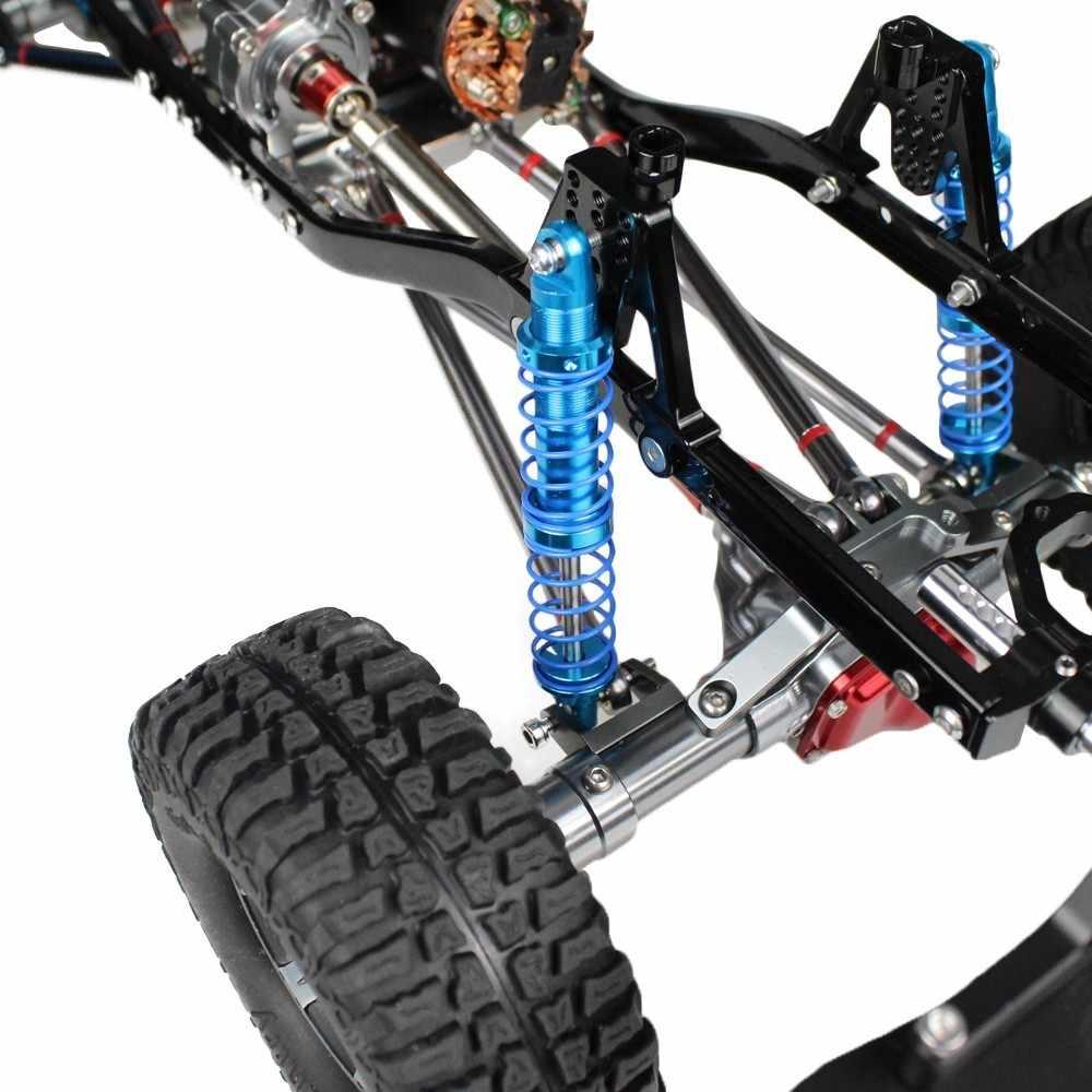 น้ำมันปรับ 80 มม.90 มม.100 มม.110 มม.120 มม.โช้คอัพ Damper สำหรับ 1/10 RC รถอะไหล่รถบรรทุก Crawler Axial Scx10 Trx4 D90