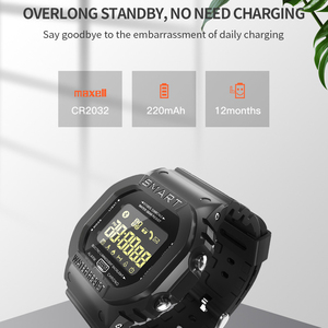 Image 4 - COXRY מלבן חכם שעון ספורט שעונים גברים צמיד 2019 ריצה Smartwatch נשים דיגיטלי אלקטרוניקה שעוני יד שעון מעורר