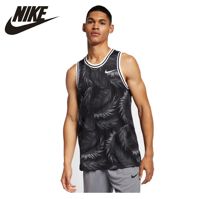 NIKE DRI-FIT DNA New Arrival  Mens Basketball T-shirt Jersey Printing Sleeveless Breathable Sportswear #AJ3537 NIKE DRI-FIT DNA New Arrival  Mens Basketball T-shirt Jersey Printing Sleeveless Breathable Sportswear #AJ3537