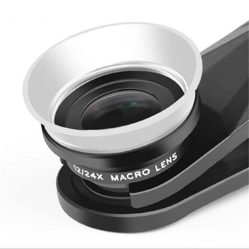 Image 2 - Pholes 2 в 1 Универсальный 12 24X макро линзы для фотоаппарата для J5 2017 J7 2017 A7 2017 J5 мобильный телефон премиум класса Камера объектив-in Объектив фотокамеры from Бытовая электроника