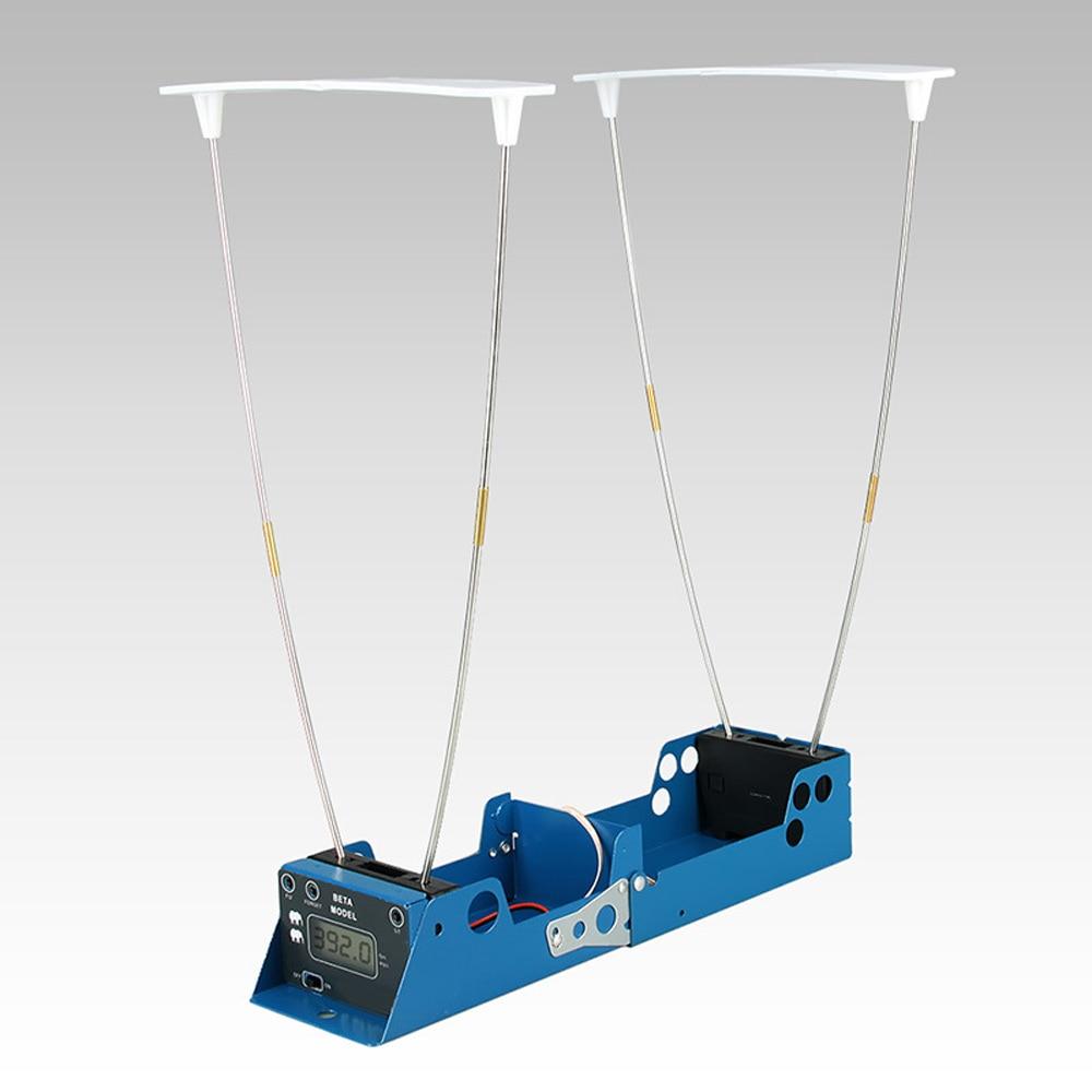 Affichage LCD mesure balle vitesse chasse au tir chronographe pliable testeur de vitesse velomètre compteur de vitesse avec deux capteurs