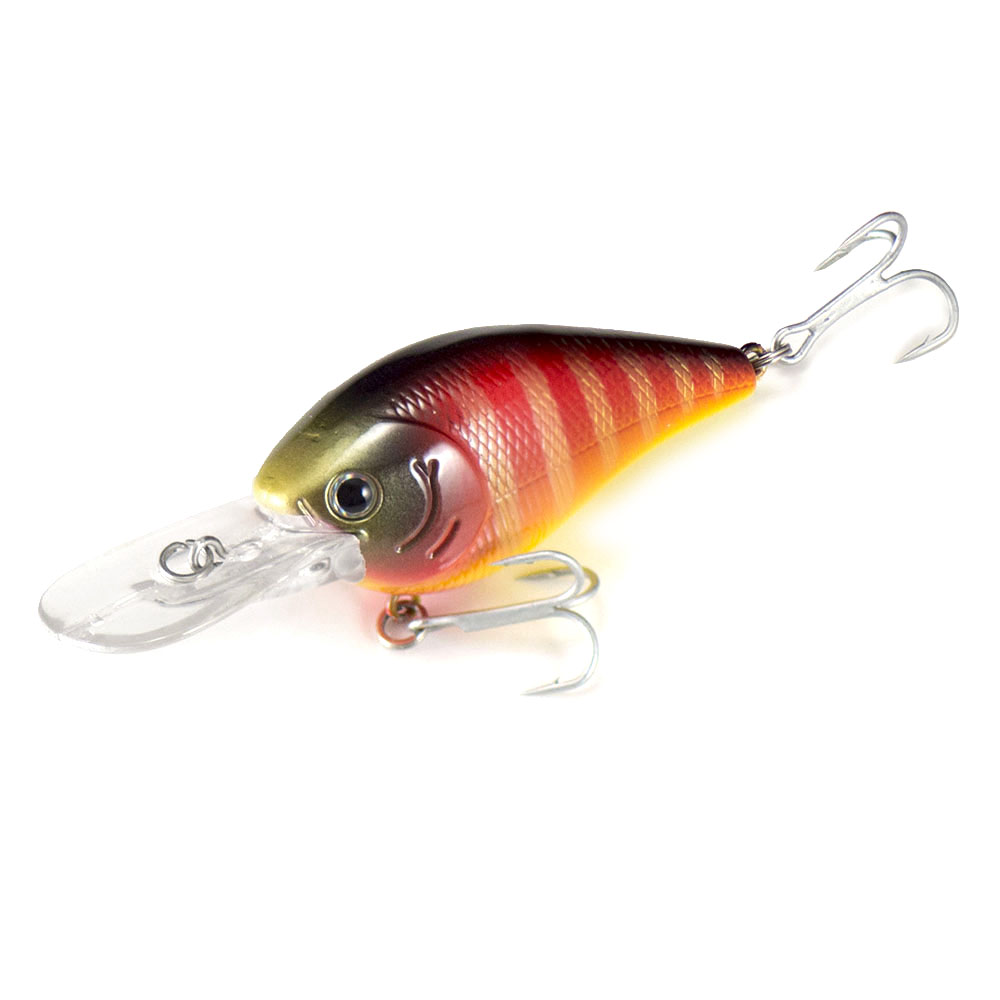 60mm 12.6g Countbass  A High Floating Crankbait Diving Depth 0.8-1m Chatterbait Wobbler Lures for Bass Fishing
