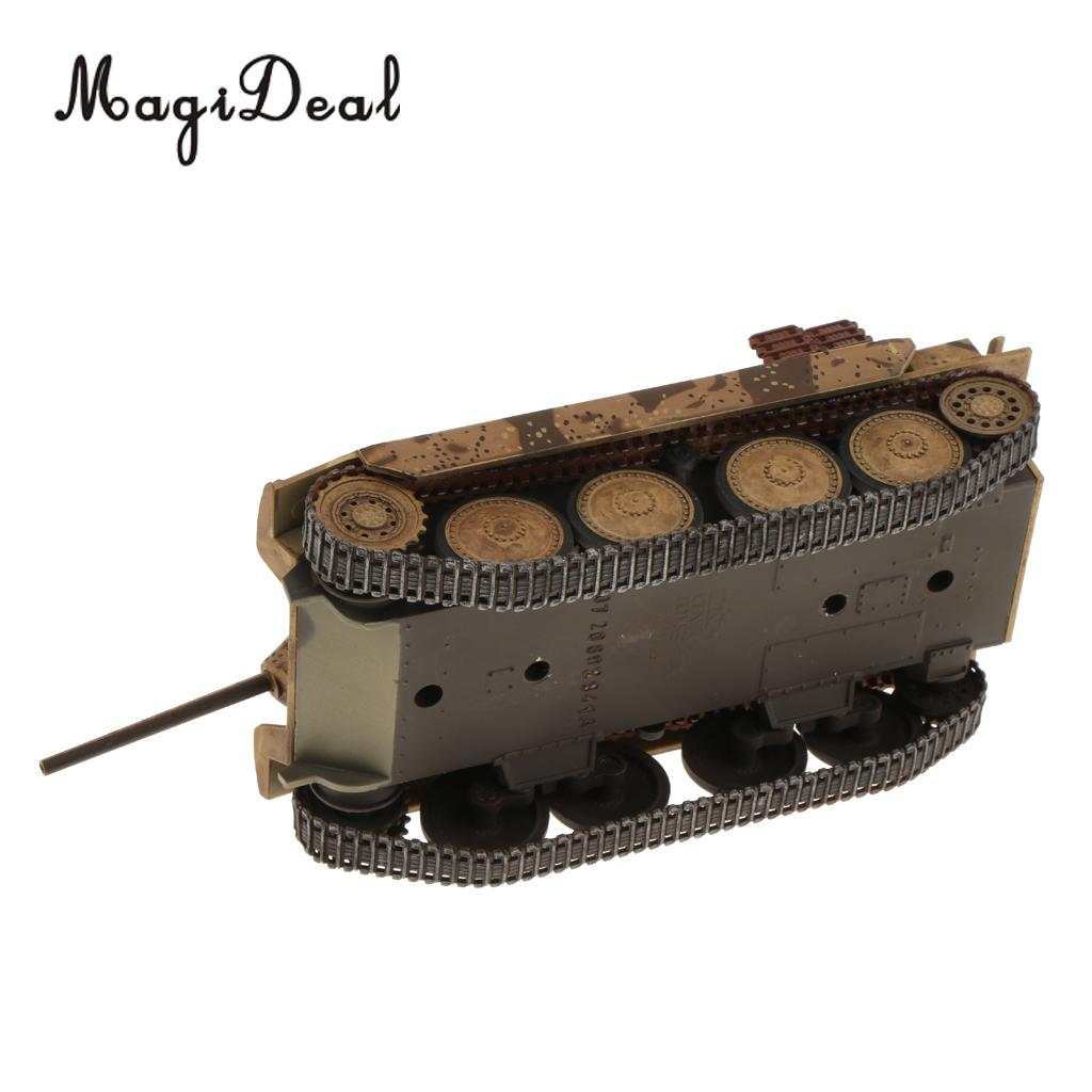 MagiDeal Plastic 1/32 Scale Jagdpanzer Hetzer WWII German Tank   Model For Home Office Decor Adult Boy Collectibles Gift