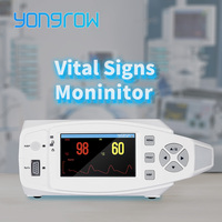 Yongrow medical Mobile monitoring Vital Signs Monitor Blood Pressure and Oximeter SPO2 Pulse Rate Tabletop Patient