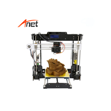2019 Auto leveling & Normal 3d Printer Kit Anet A8 3d Digital Printer with ABS PLA Filament 3d Printer Doll Has 1 Year Warranty 1 44 inch lcd display 3d printer 2 in 1 laser engraving machine pla auto change material intelligent leveling diy kit 3d printer