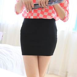 Модные женские туфли пикантные летний пакет платье обтягивающее юбка Бесшовные Дамы OL упругой Плиссированные Высокая Талия Slim Mini