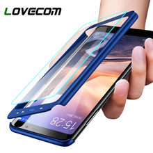 LOVECOM Luxury 360 Degree Full Cover Phone Case For Huawei P20 Mate 20 Lite Shockproof Cover For Honor 8 9 Lite 7X 8X P Smart(China)