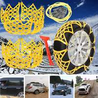 Autoleader Car Anti Skid Snow Chain Mud Antiskid Chains for Car/Truck Snow Wheel Tyre + Shovel + Gloves
