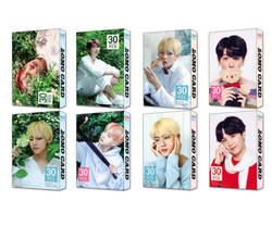 30 шт./компл. k-pop Bangtan для мальчиков альбом LOMO карты новый модный бумажный фото карта HD Фотокарта