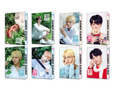 30pcs/set k-pop  Bangtan Boys Album LOMO Cards New Fashion Paper Photo Card HD Photocard