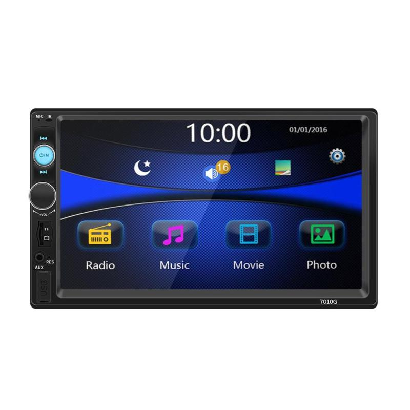 <font><b>7010G</b></font> 7in Car Stereo MP5 Player GPS Navigation Bluetooth FM Radio Head Unit image