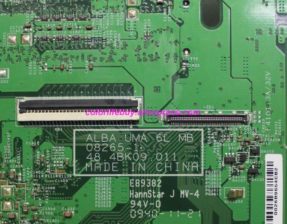 Image 3 - Genuine CN 0K137P BR 0K137P 0K137P K137P ALBA 08265 1 48.4BK09.011 Laptop Motherboard for Dell Inspiron 1440 Notebook PC-in Laptop Motherboard from Computer & Office