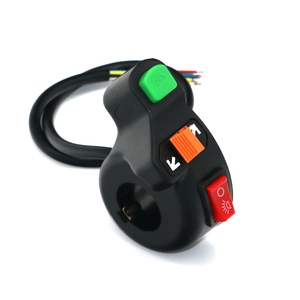 Free shipping new Universal Headlight ,Turn Signal & Horn Handlebar Switch for Electric Bike motorcycle/scooter trike(China)