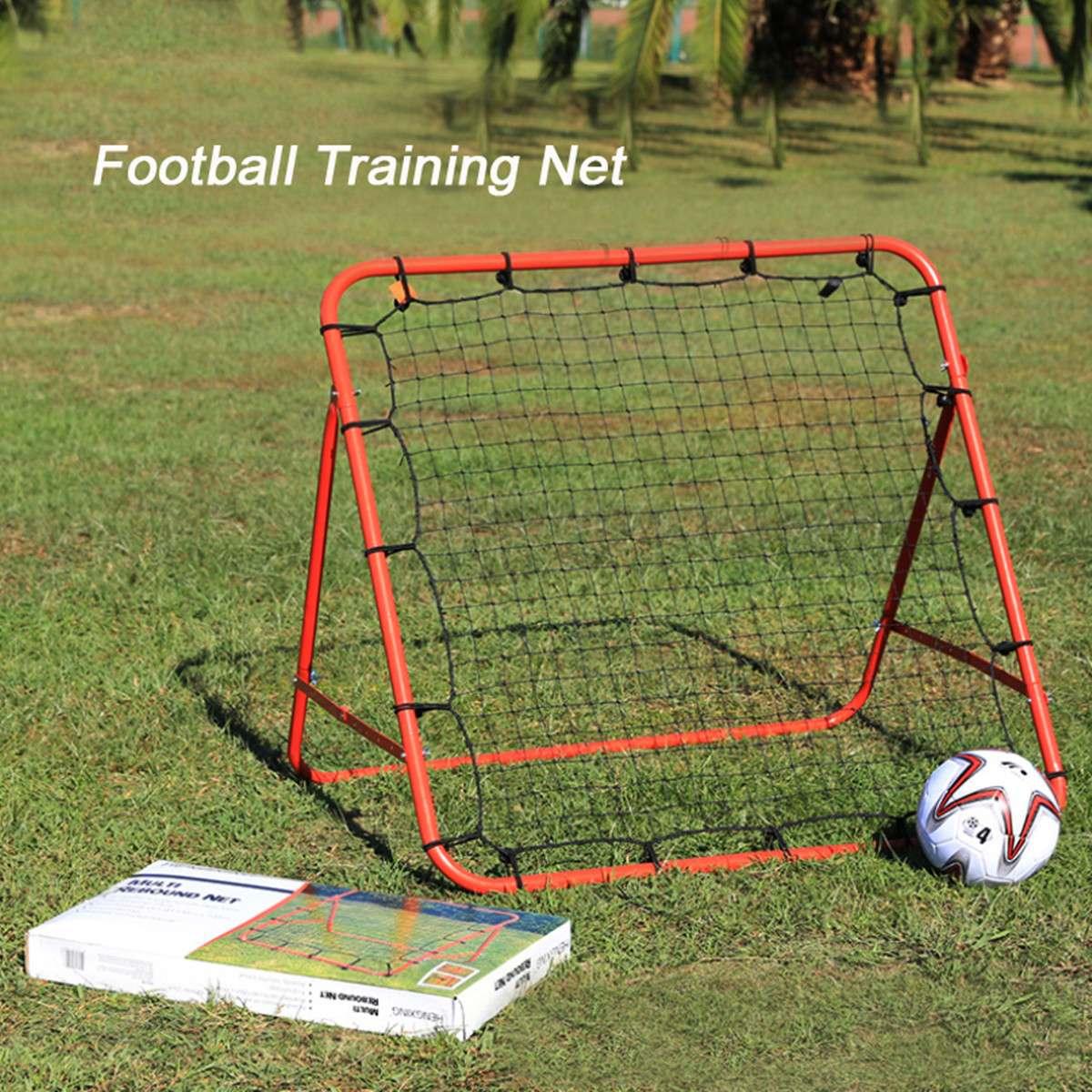 Filet de Football but de Football Net rebond cible maille filet Sports de plein air Football entraînement aide ballon de Football pratique