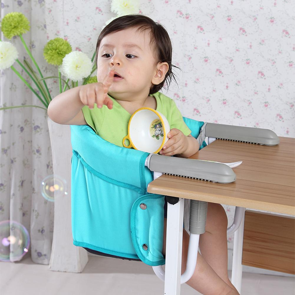 Baby Dining Chair Bag Baby Portable Seat Oxford Cloth Proof Fabric Infant Travel Foldable Child Safety Belt Feeding High Chair