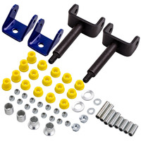 Brand New Front End Repair Kit w/ Bushings & King Pins for Club Car DS Golf Cart 1993 Up