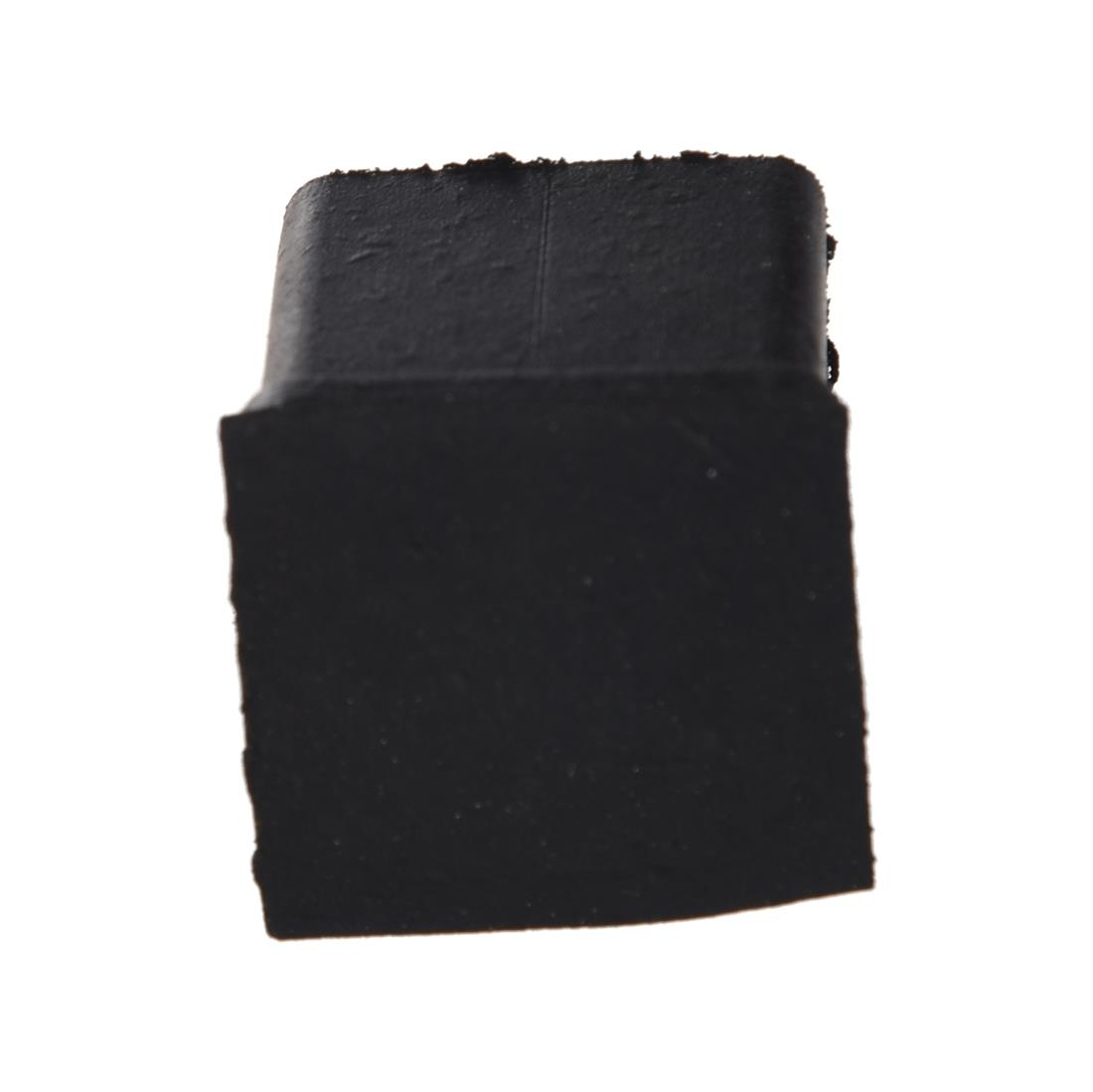 Promotion! Black 40 Pcs Rubber Chair Table Foot Cover Furniture Leg Protectors 20x20mm