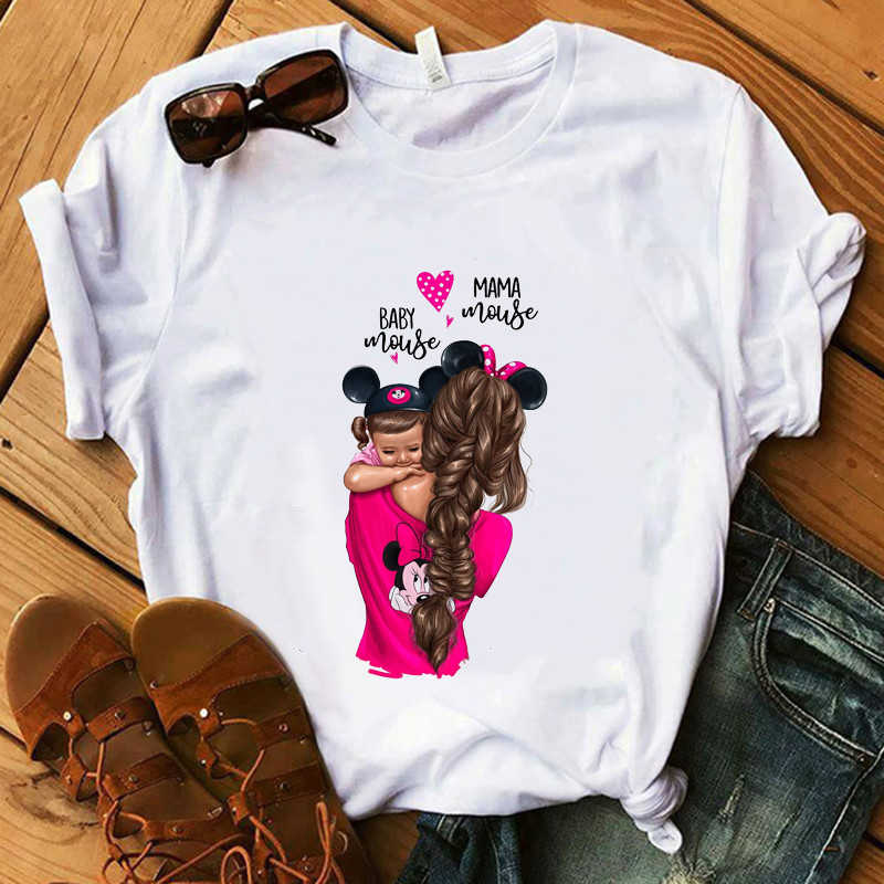 Baby Mouse MaMa Mouse T shirts Vogue Summer Lovely Girl T