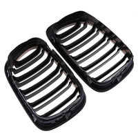 For 98 01 BMW E46 Performance Gloss Black Kidney Euro Sport Front Grill
