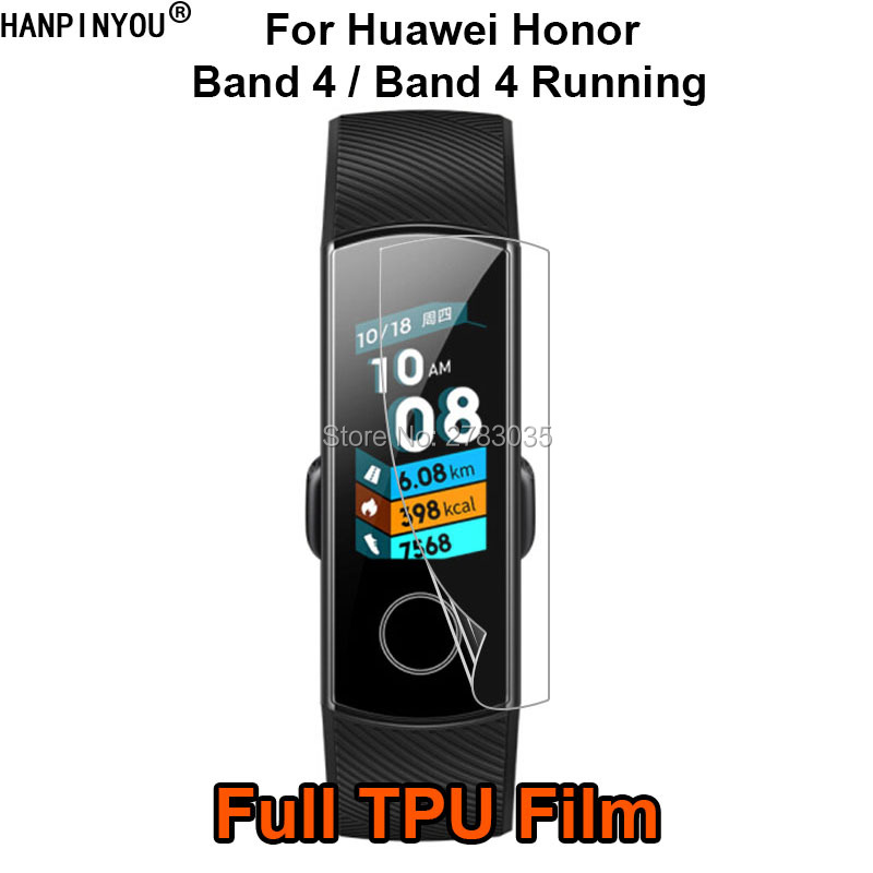 For Huawei Honor Band 4 / 4 Running Sports Smart Watch Wristband Soft TPU Film Screen Protector (Not Tempered Glass)For Huawei Honor Band 4 / 4 Running Sports Smart Watch Wristband Soft TPU Film Screen Protector (Not Tempered Glass)