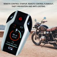 Motorcycle Alarm Remote Control Starter Motor Automotive Security Devices for Motorbike Anti Theft Device Remote Alarm 11.11