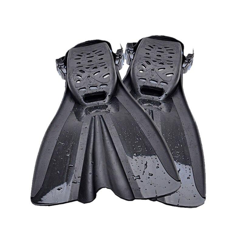 Yon Sub palmes de plongée natation entraînement Long pied Flipper réglable palmes de plongée équipement de Sport nautique pour adultes hommes Wo - 2