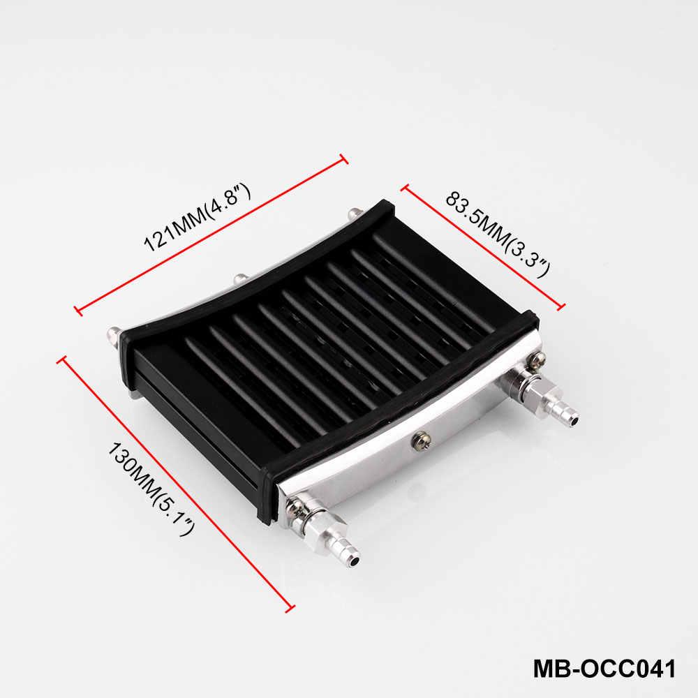 MB-OCC041 אוניברסלי אופנוע CNC אלומיניום מנוע שמן Cooler קירור רדיאטור ערכת עבור 50cc-150cc טרקטורונים בור פרו שביל עפר