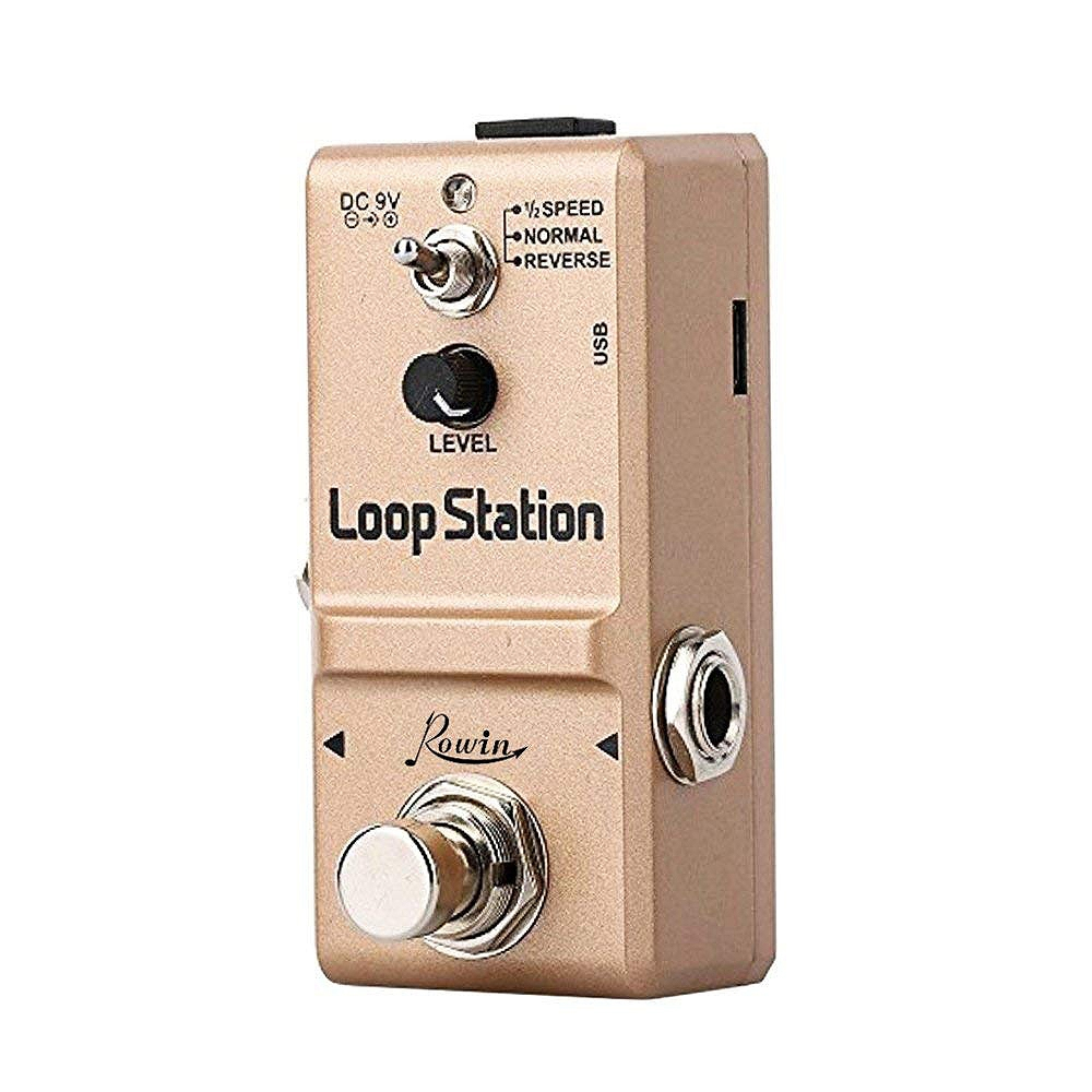 Rowin Ln 332S Loop Station Looper Effects Pedal Unlimited Overdubs 10 Minutes Of Looping 1 2
