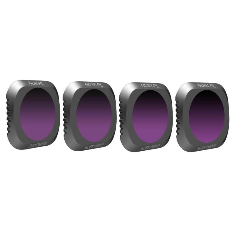 Filtre de caméra Mavic 2 MC UV/ND 8 16 32 64-PL/CPL Kit de filtres polarisants pour objectif en verre optique DJI Mavic2 Pro accessoires Drone