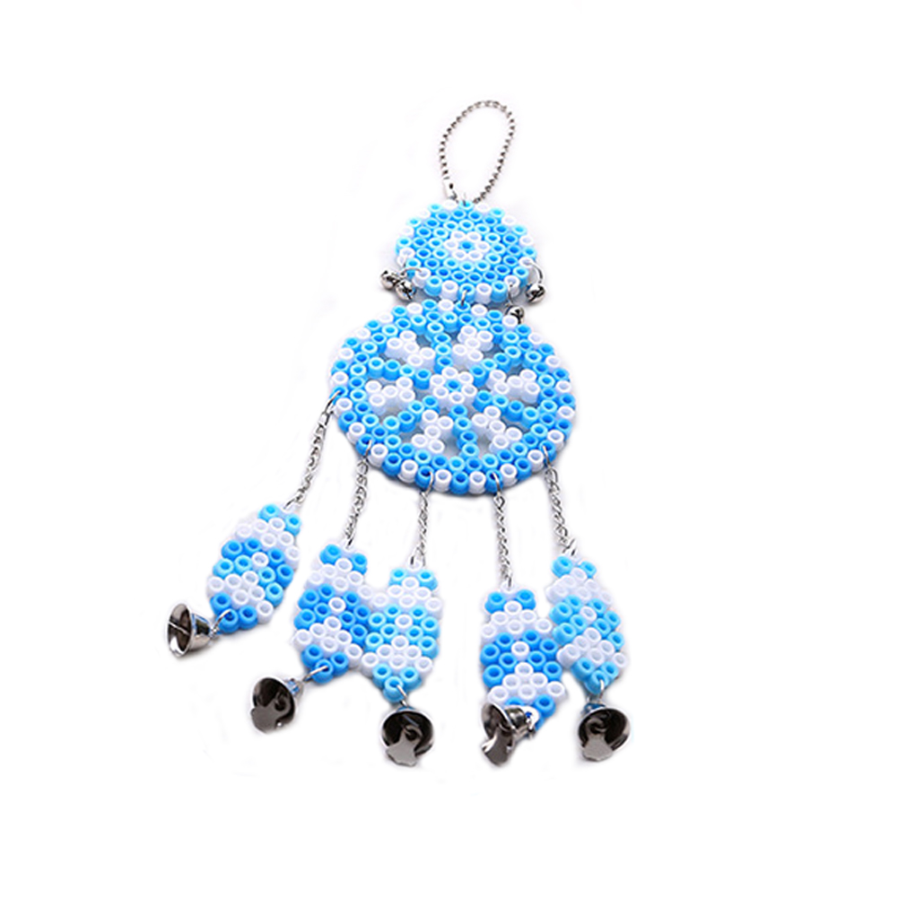 Wind Chime Series Hama Beads Fight Beans Toys Children Perler Beads Home Decoration Educational Toy Blue