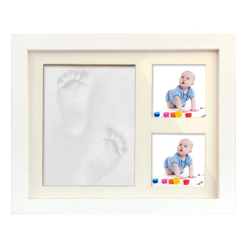 Soft Baby Hand /& Foot Print Frame Kit Safe imprint Clay for moulding with