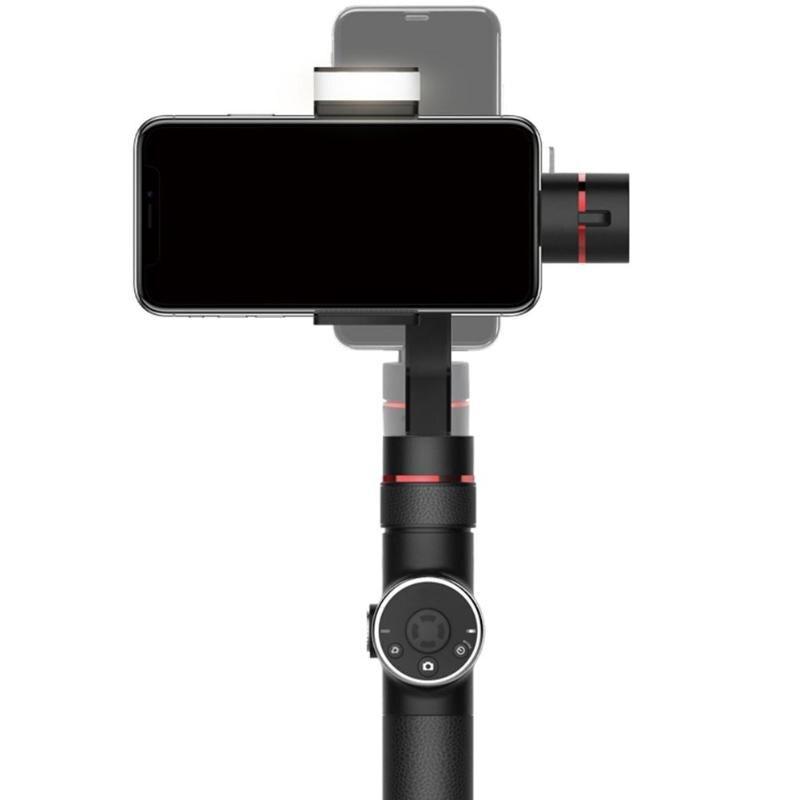 Stabilisateur de cardan portable V5 3 axes pour caméra d'action iPhone Samsung Xiaomi GoPro
