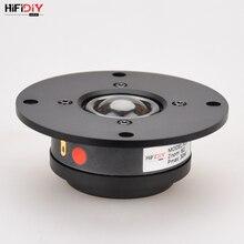 HIFIDIY LIVE X1II 4 بوصة 4.5 مكبر الصوت وحدة الألومنيوم لوحة شفافة الحرير غشاء 6OHM30W مكبر الصوت ثلاثة أضعاف 94 ~ 120 مللي متر
