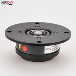 HIFIDIY VIVER X1II 4 polegada 4.5 Unidade Falante Tweeter de alumínio painel de membrana de Seda transparente 6OHM30W Treble Altifalante 94 ~ 120 milímetros