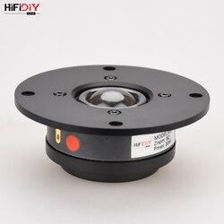 Hifidiy viver x1ii 4 polegada 4.5 tweeter alto-falante unidade painel de alumínio membrana seda transparente 6ohm30w agudos alto-falante 94 94 120mm