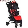 Babalo (YOYA PLUS 3 YOYA + 2019) nuevo estilo bebé cochecito paraguas plegable de la luz, puede sentarse cochecito de bebé