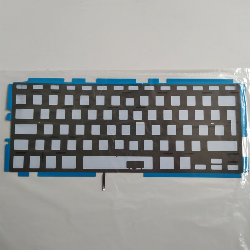 Free Shipping 5PCS New Laptop UK Keyboard Backlight For Apple Macbook Pro 13 A1278 MB990 MC374