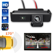 Auto Auto Telecamera di Retromarcia Videocamera vista posteriore del Monitor di Parcheggio Per VW/Polo/2C/Bora/Golf/MK4/MK5 /MK6/Beetle/Leon