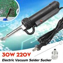 Hot Sale 30W 220V Electric Vacuum Solder Sucker Iron Gun /Desoldering Pump /Repair Tool
