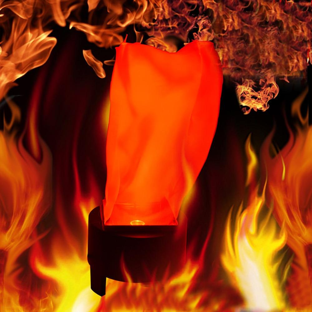 220v 110v Led Fake Flame Lamps Fire Effect Torch Light