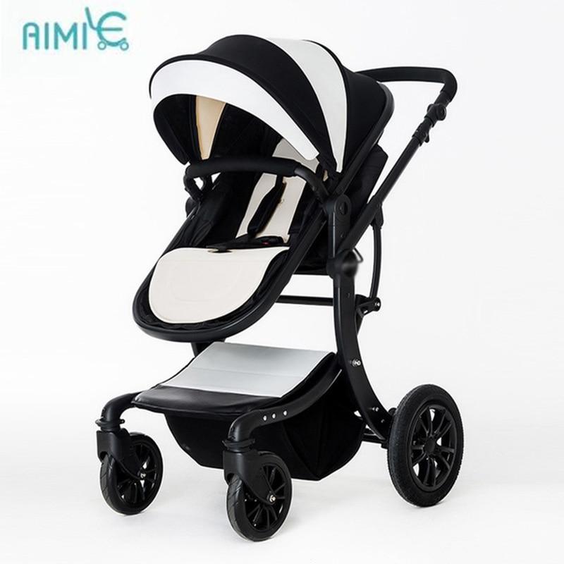 Aimile stroller can sit flat lay high landscape folding stroller newborn strollerAimile stroller can sit flat lay high landscape folding stroller newborn stroller