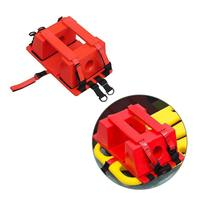 Red Emergency Rescue Head Fixator Water Rescue Stretcher Plate Head Immobilizer Swimming Pool Aid Equipment For EMS/EMT Supply