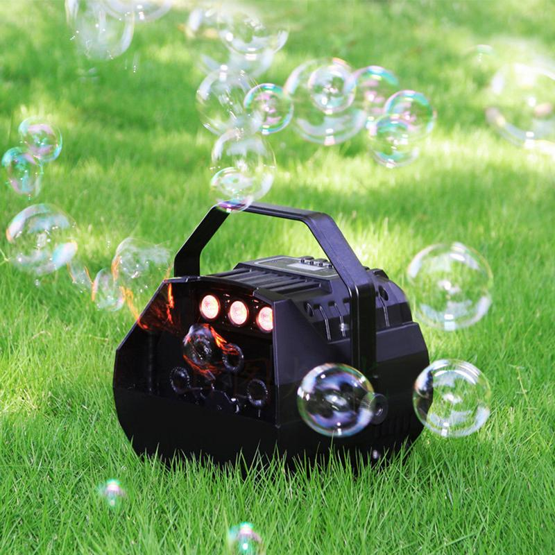 Professional Automatic Bubble Machine With High Output, Automatic Blowing Mechanism For Wedding Party Stage Effect