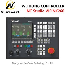 WEIHONG NC Studio NK260 NK280 Controller Software NC Studio V10 3 Axis ATC Spindle Integrated Control System Manual NEWCARVE цены