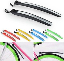 Racing Bike Fenders Cycling Fixed Gear Folding Front Rear Mud Guards Mudguard Fender Wings Set 5 Colors High Quality