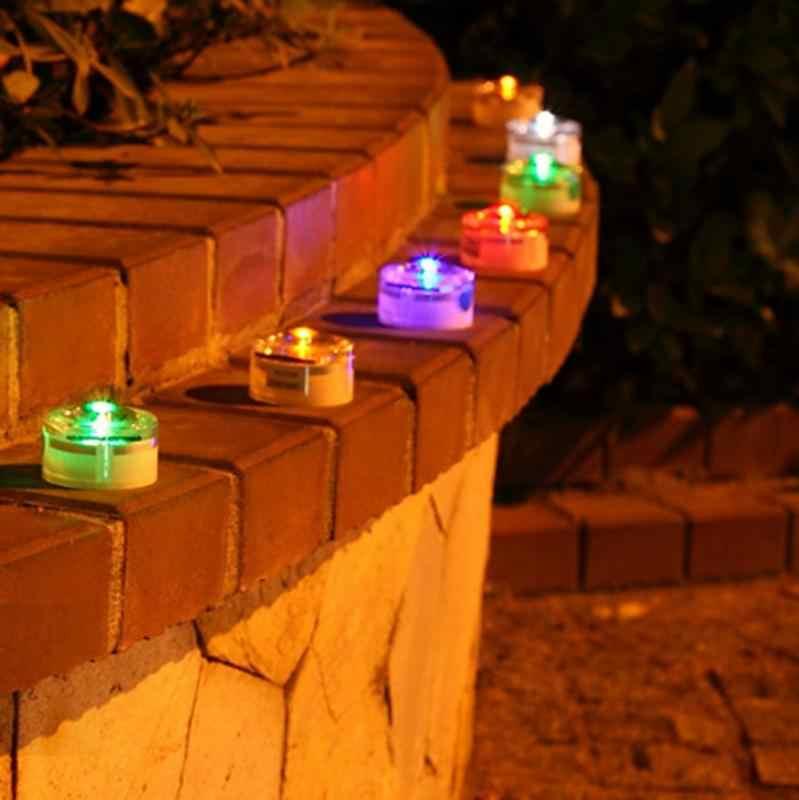 Lampe de jardin solaire étanche lumière LED extérieure lampe enterrée lampe de jardin solaire pour jardin extérieur pelouse paysage decoracion jardin