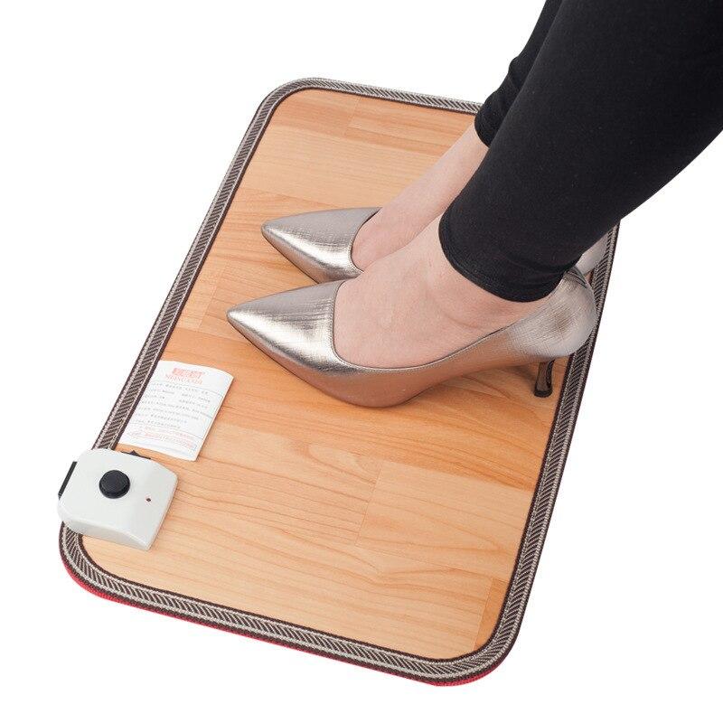 Pieds chauds prise de trésor pieds artefact tapis électriques nuan jiao dian chauffe-pieds pieds chauds bureau coussin chauffant pieds